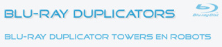 Open de Blu-Ray Duplicator Website voor informatie over Blu-Ray duplicators en robots