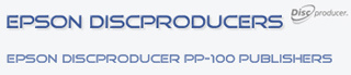 Open the Epson Discproducer PP-100 Website for more information on the Epson PP-100 Disc Publishers